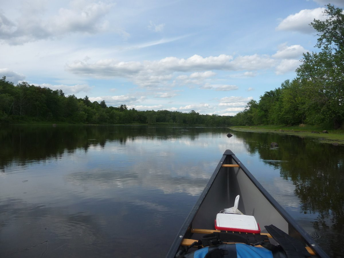 Trip report camping canoeing and fly fishing at st for St croix fishing