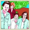 Dawes illustration from Daytrotter