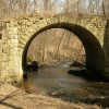 The Old Stone Bridge over Brown's Creek near Stillwater, Minnesota