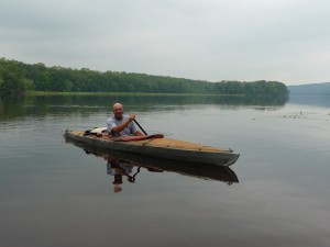 Bill Nedderman on the St. Croix River