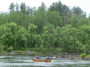 Canoeing on the South Kawishiwi